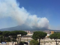 Parco Nazionale del Vesuvio: Ennesimo incendio, solite imperdonabili carenze.