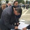 """Anche il Sindaco di Brusciano firma """"per far bene al mio Paese"""""""