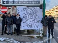 Comunità Montana Ufita Avellino: niente soldi per i lavoratori forestali!